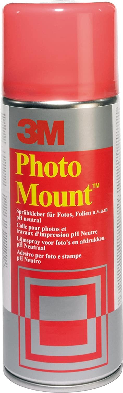 GP34,97€/L 3M PhotoMount - Sprühkleber für schnelle & dauerhafte Verbindungen , 400 ml, dauerhaft kl