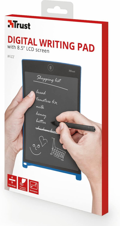 """Trust Wizz Digitales Schreibpad 8,5"""" LCD Display 22357 inklusive Stift"""