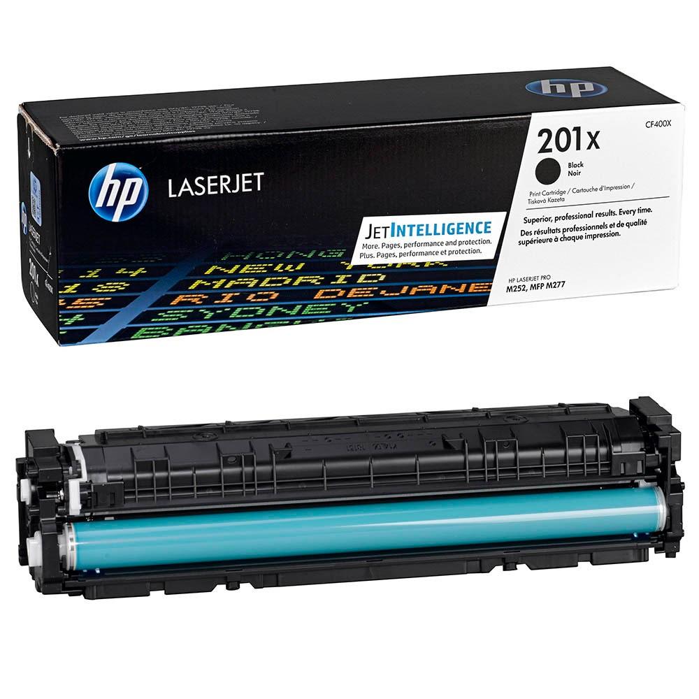 Original HP 201X (CF400X) schwarz Toner HP Color LaserJet Pro M252/MFP M274n/M277