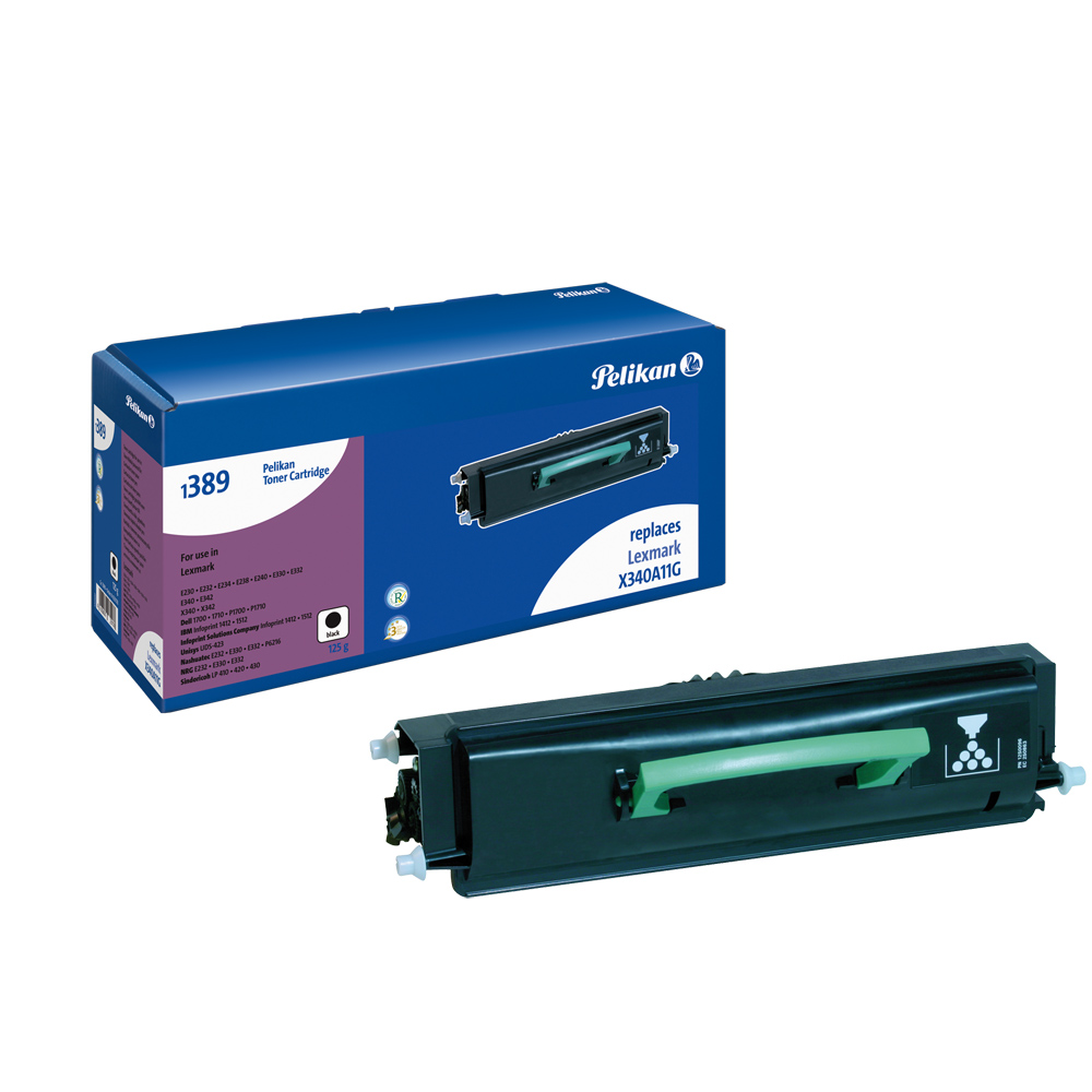 Pelikan Toner 13889  komp. zu X340A11G Lexmark E230 etc. black