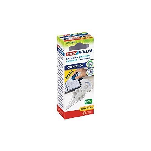 tesa Roller Korrigieren ecoLogo, Nachfüllkassette 8,4mm ( HFB )