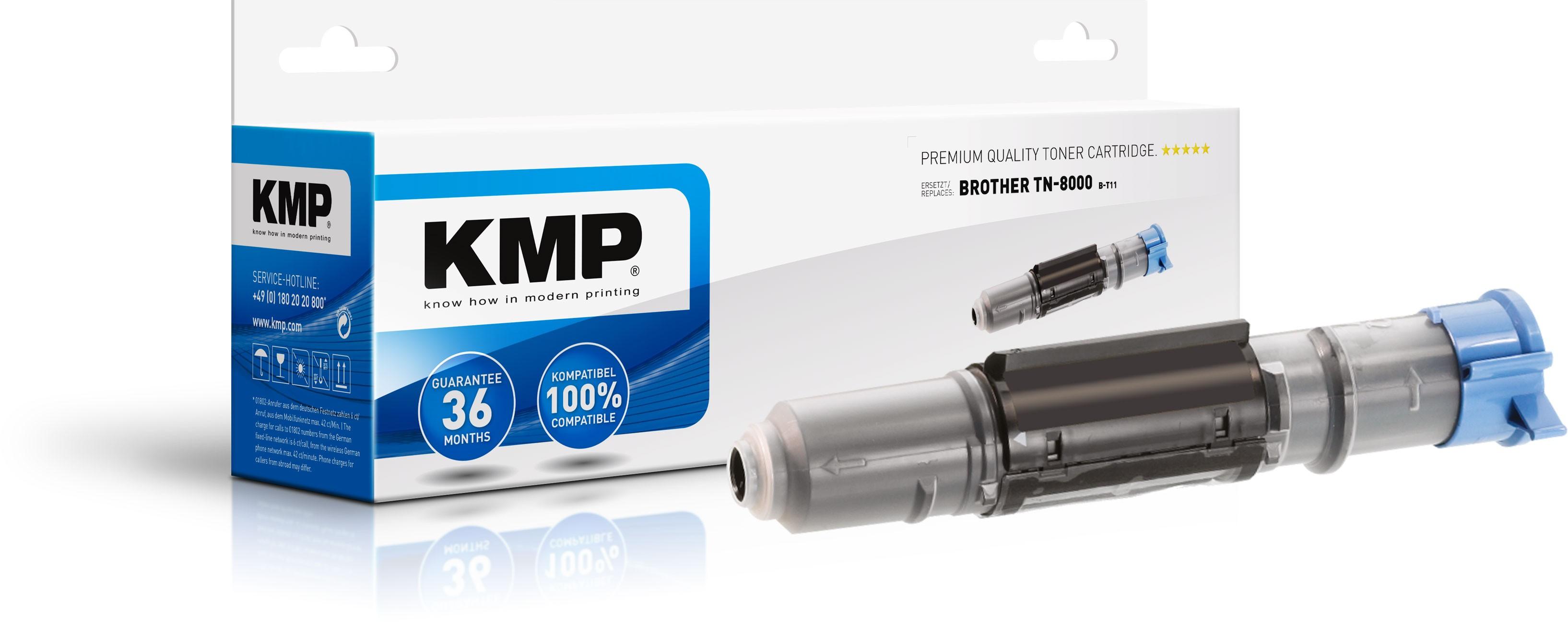 Vorschau: KMP Toner für Brother TN-8000 Fax 8070P MFC-4800 6800 9030