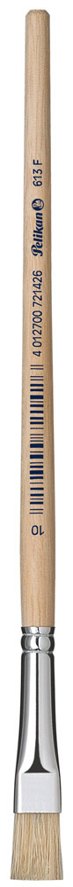 Pelikan Pinsel Sorte 613 F aus Reine Schweinsborsten Größe 20