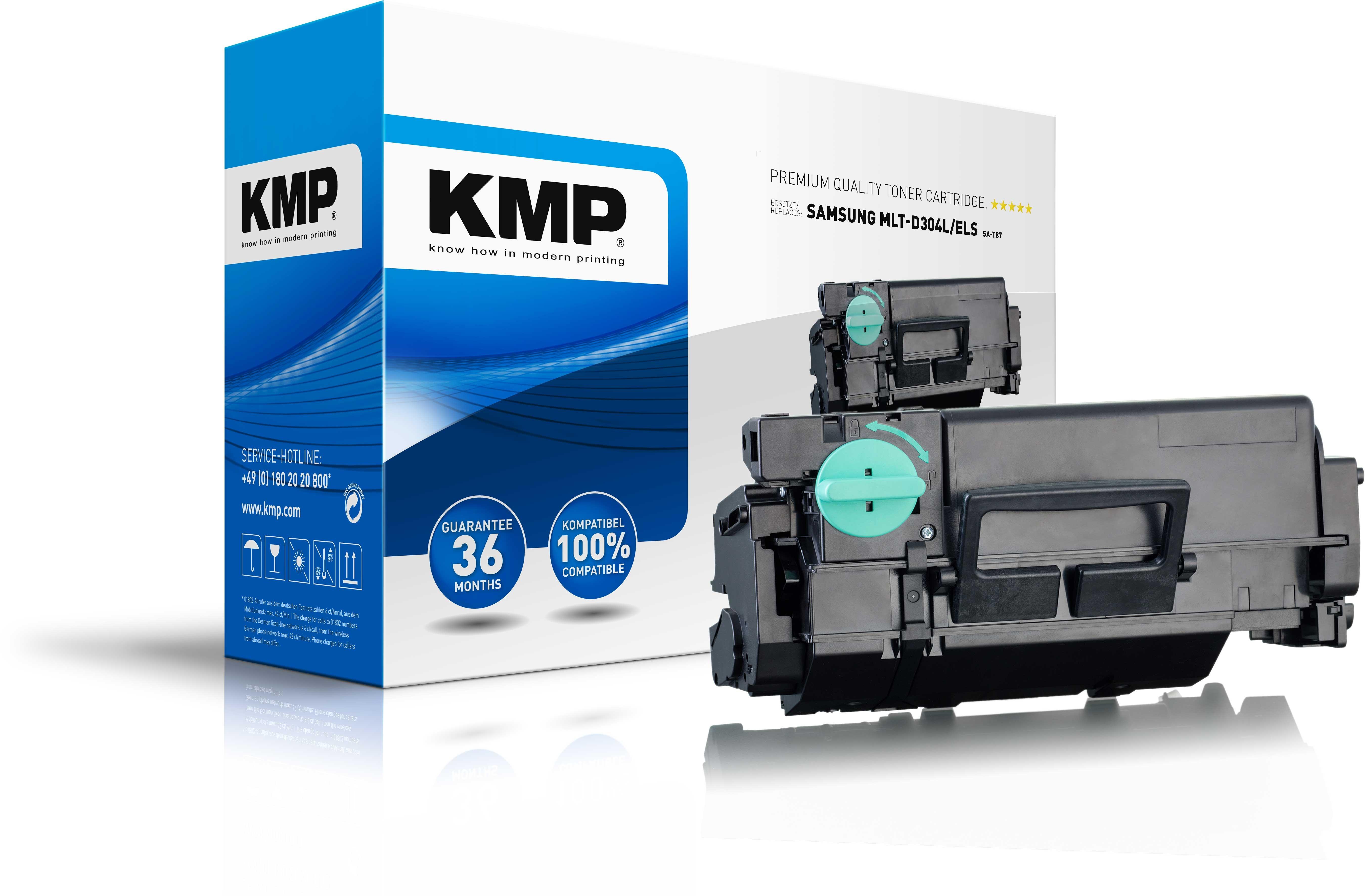 KMP Toner SA-T87 ersetzt MLT-D304L/ELS für SamsungPro Xpress SL-M4530ND etc. black