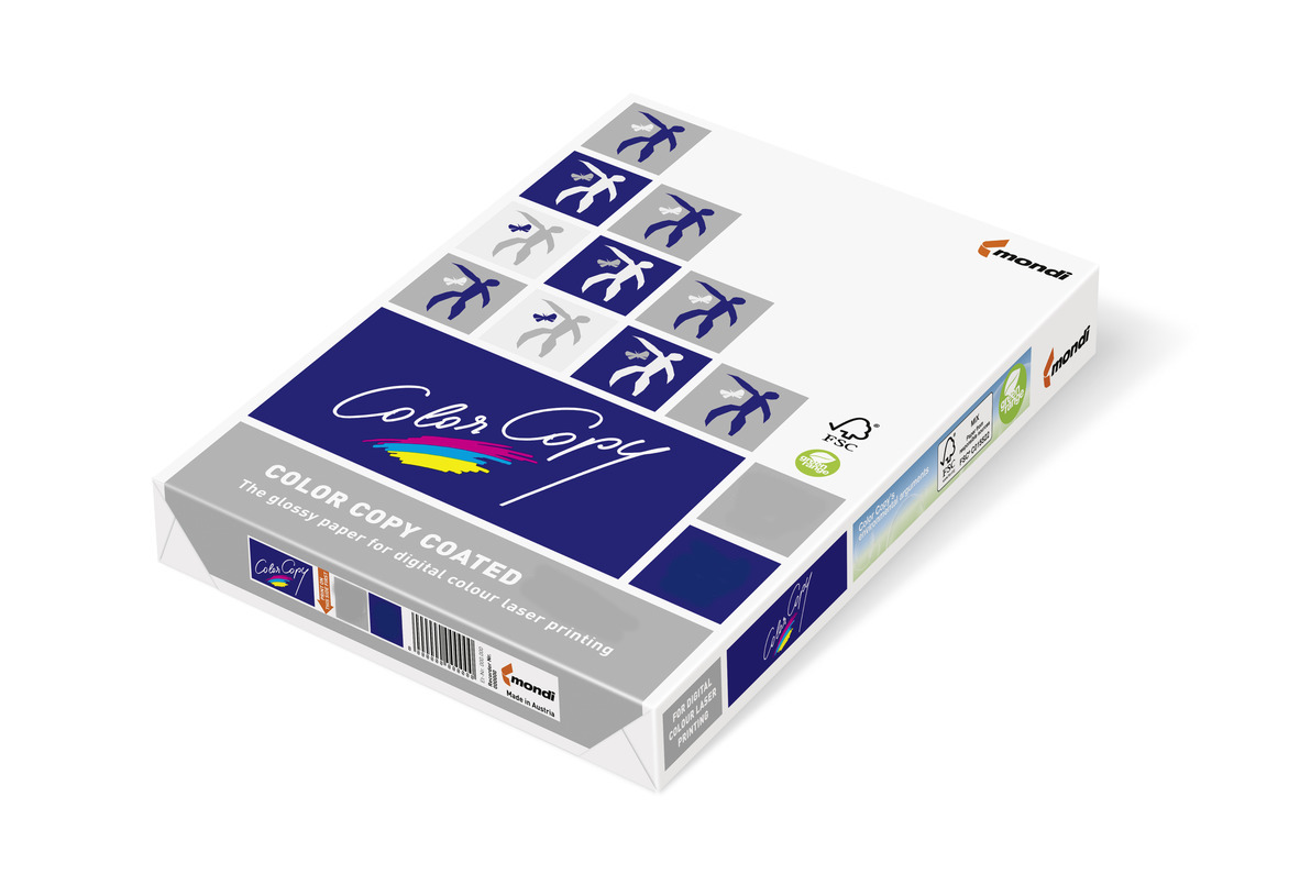 Vorschau: Color Copy Silk 250 g/m² A4 Fotopapier Seidenpapier 250 Blatt