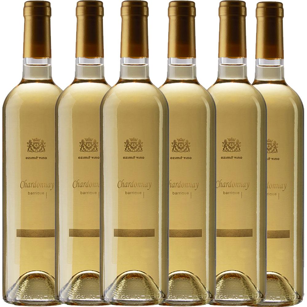 6x 0,75L Chardonnay Barrique Ezimit Grup WCO trocken 2018 - 13,66% - 11,10€/L