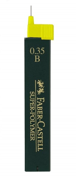 Faber-Castell 9063 - Feinminen, B 0,35mm