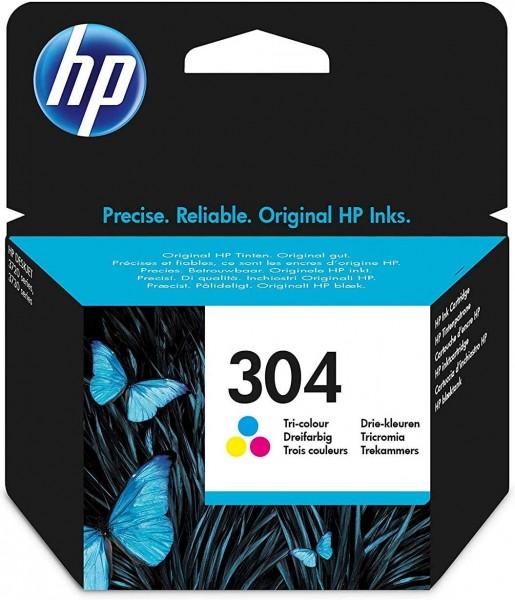 HP 304 color Original Druckerpatrone N9K05AE Tintenpatrone