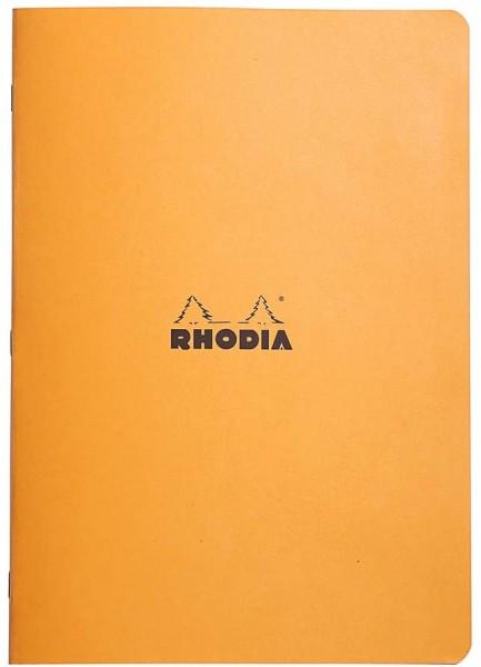 Rhodia 119164C Heft (DIN A4, 21 x 29,7 cm, kariert, 48 Blatt) 1 Stück orange