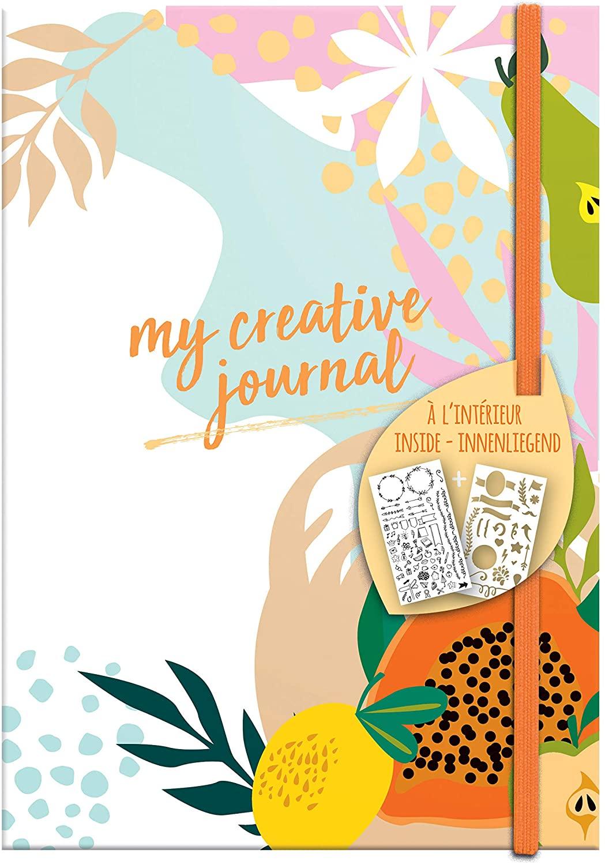 Clairefontaine 97405C Heft My Creative Journal DIN A5, 208 Seiten, Dot Lineatur, 90g/qm, 1 Stück, Fr