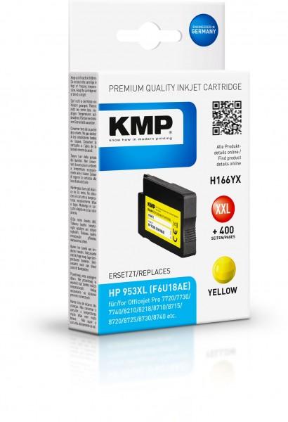 KMP Patrone H166YX für (F6U18AE) HP 953XL OfficeJet Pro 7700 Series OfficeJet Pro 8200 Series etc. y