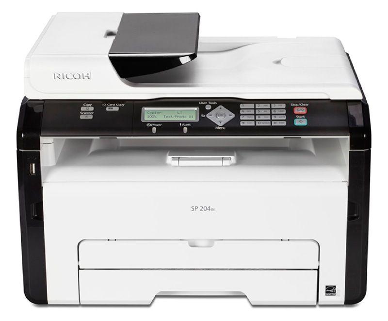 Ricoh Aficio SP 204SN SW-Laserdrucker
