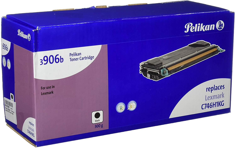 Pelikan Toner ersetzt Lexmark C746H1KG, Black, 12000 Seiten