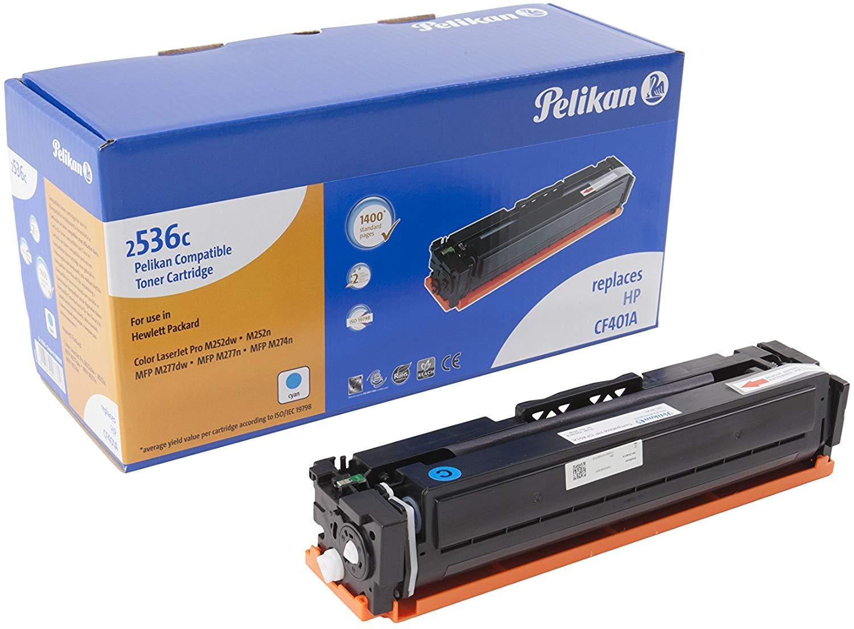 Pelikan Toner ersetzt HP CF401A, Cyan, 1400 Seiten