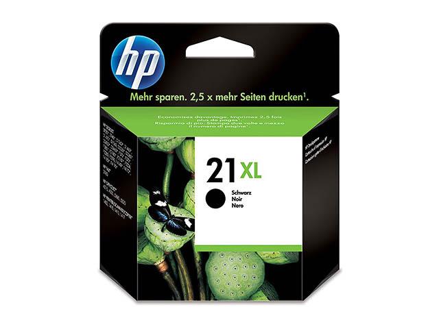 HP 21XL Schwarz Original Druckerpatrone mit hoher Reichweite für HP Deskjet, HP Officejet, HP PSC