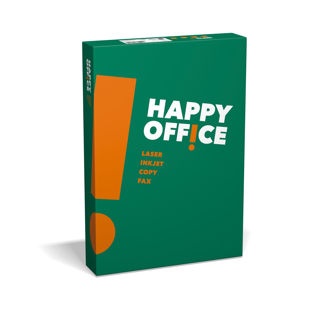 100.000 Blatt Happy Office Kopierpapier 80g/m² DIN-A4 weiß