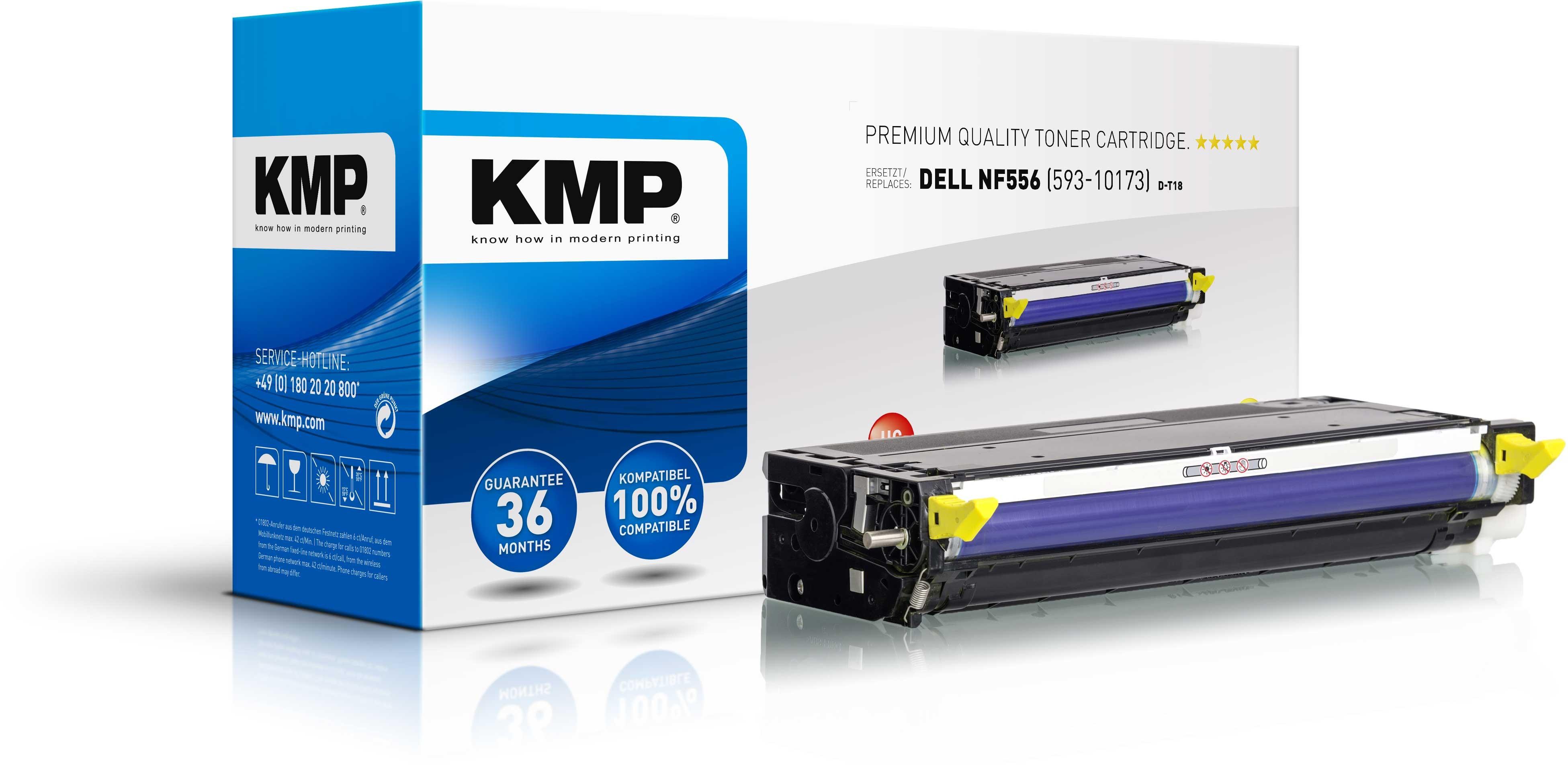 KMP Toner D-T18 für Dell NF556 3110cn etc. Yellow