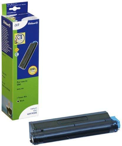 Pelikan Toner ersetzt OKI 43979202, Black, 7000 Seiten