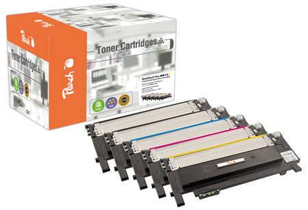 Peach Spar Pack Plus Tonermodule kompatibel zu Samsung CLT-406S