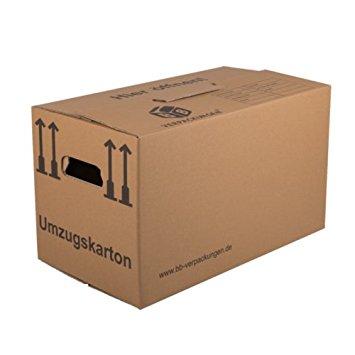 Umzugskartons 650 x 350 x 370 20er Pack in braun