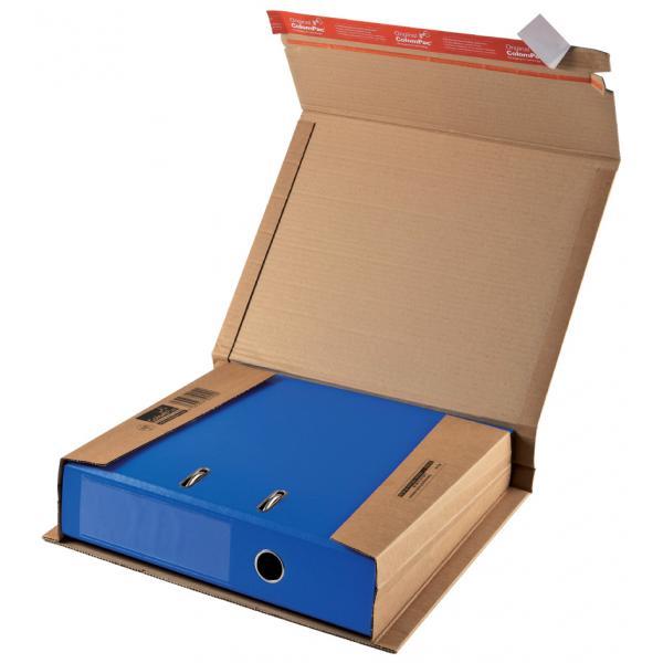 ColomPac® Ordnerversandverpackung 320 x 290 x 35-80 mm, braun