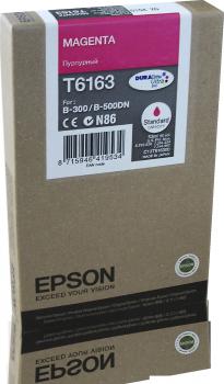 Original Epson Patrone T6163 B300 für STYLUS B 300 magenta