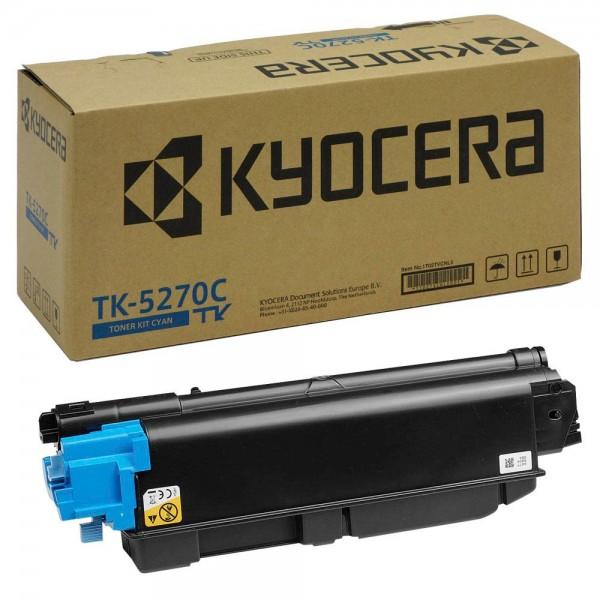 Original Kyocera TK-5270C cyan Toner für ca. 6.000 Seiten