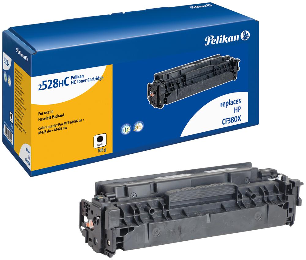 Pelikan Toner 2528HCb  komp. zu CF380X  color LaserJet Pro MFP M476 dn etc. black