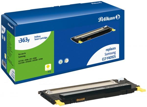 Pelikan Toner 1363 komp. zu CLT-Y4092S Samsung CLP-310 yellow