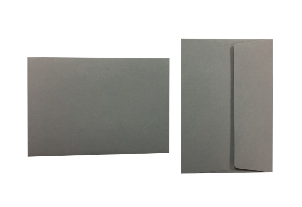 Pop'Set Umschläge C6 kieselgrau 120g/m² 100 Stück