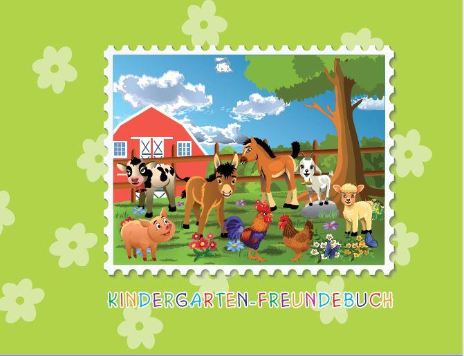Kindergarten-Freundebuch FARM - 34 Blatt