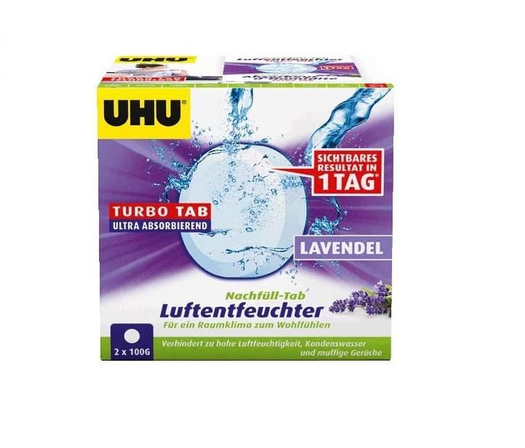 UHU 50765 Luftentfeuchter Nachfülleinheit, 2 x 100 g