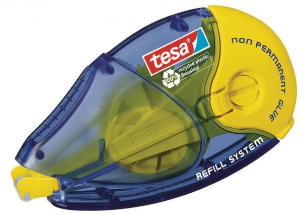tesa Kleberoller nicht permanent ecoLogo, Nachfüllroller 14m x 8,4mm