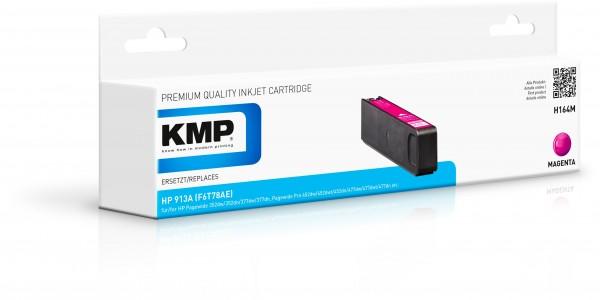 KMP Patrone H164M für (F6T78AE) HP 913A HP PageWide 352 dw HP PageWide MFP 377 dw etc. magenta