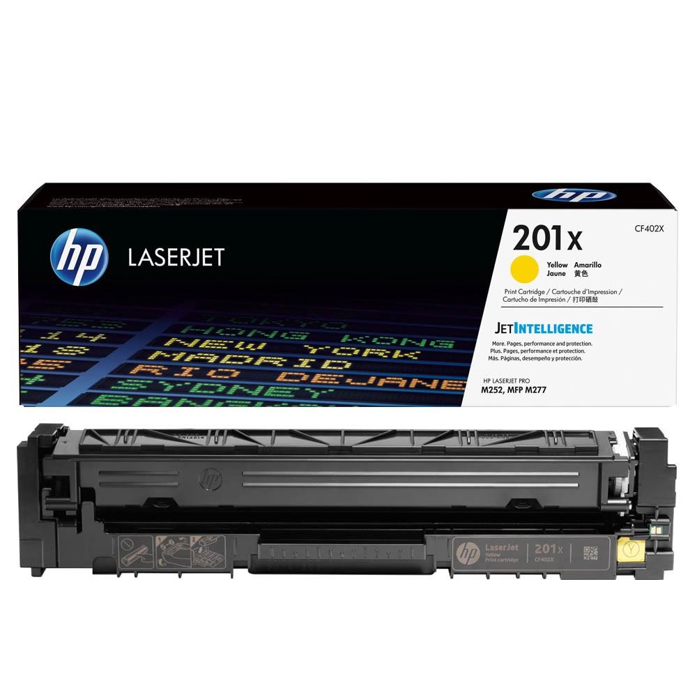 Original HP 201X (CF402X) gelb Toner HP Color LaserJet M252/MFP 274n/M277