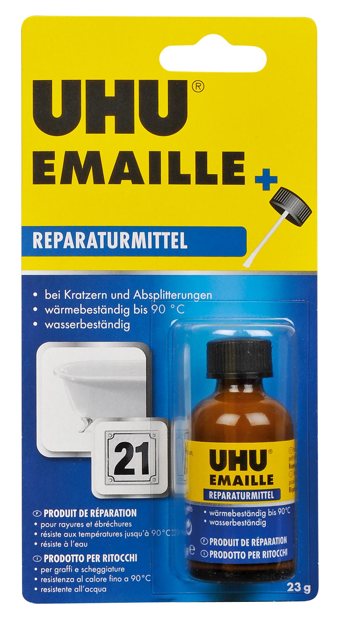 UHU Emaille 23g Flasche Infokarte