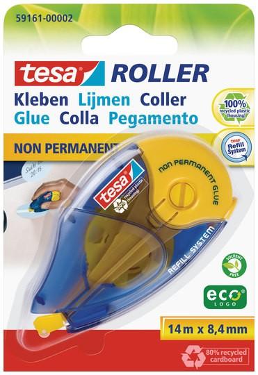 tesa Roller Kleben non permanent ecoLogo, Nachfüllroller ( Blister )