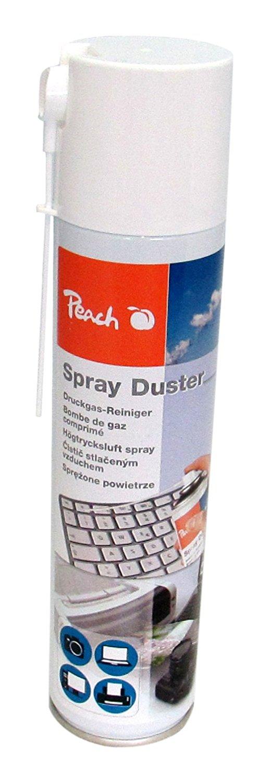 Peach Universal Druckluftreiniger PA100, 400 ml, 1 Stück | präzise, dank Sprühkopfverlängerung | ide