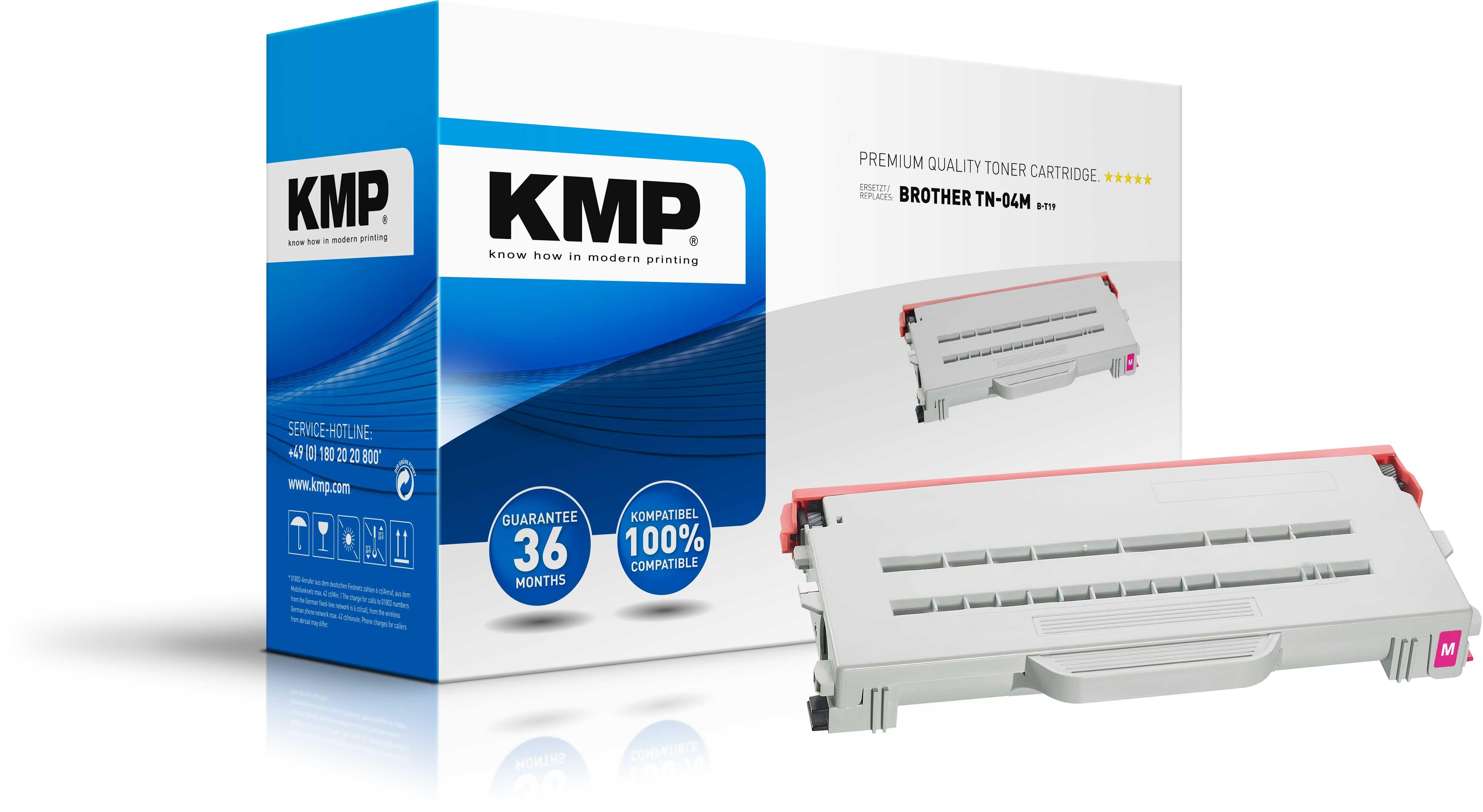 Vorschau: KMP Toner für Brother TN-04M HL-2700CN MFC-9430CN magenta