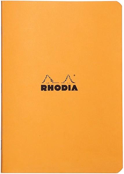 Rhodia 119182C Heft (DIN A5, 14,8 x 21 cm, kariert, 48 Blatt) 1 Stück farbig sortiert