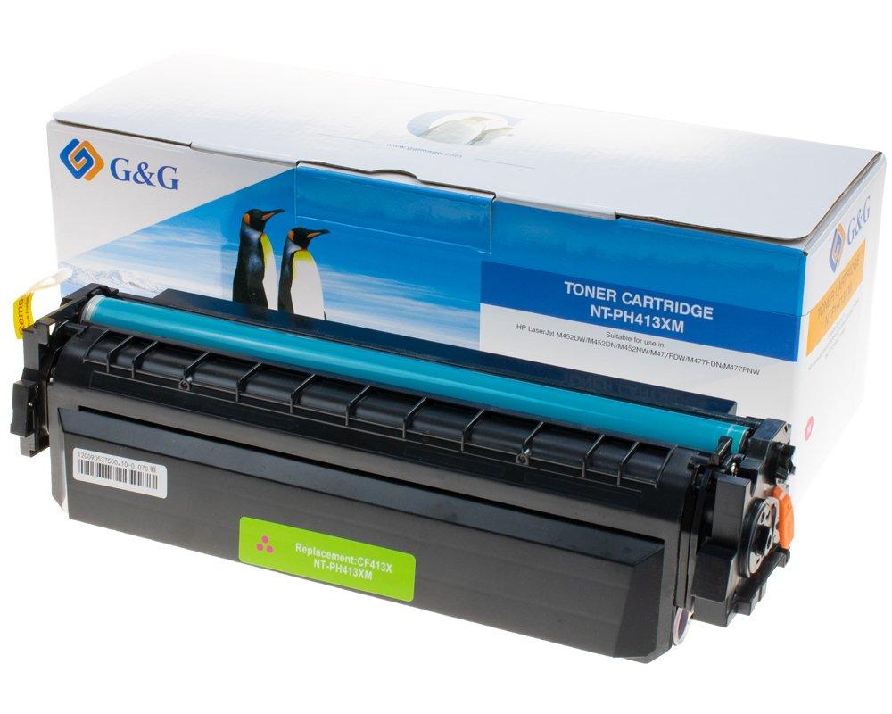 G&G Image XL-Toner kompatibel zu HP 410X/ CF413X magenta