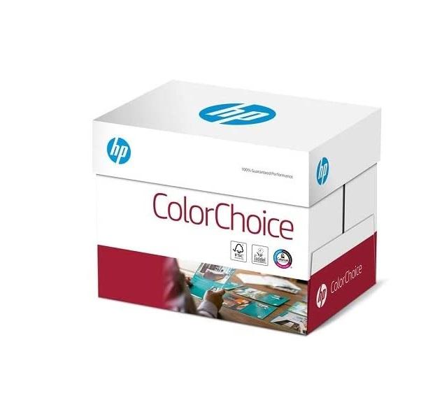 HP Farblaserpapier, Druckerpapier Colorchoice CHP754 - 160 g DIN-A4, 1250 Blatt (5x250), weiß