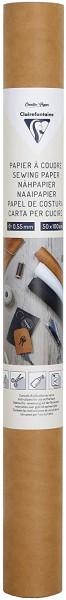 Clairefontaine 95534C – Eine Rolle zum Aufnähen, 50 x 100 cm, Kraftpapier