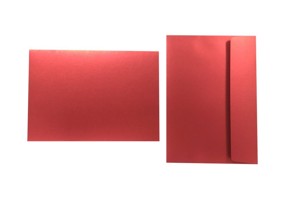 Inapa Shyne Umschläge C5 Red Diamond 120g/m² 100 Stück