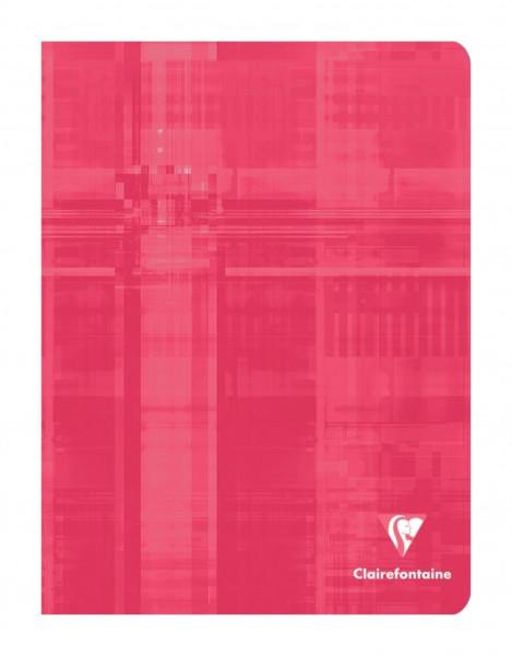 Clairefontaine 63741C Kladde Softcover, DIN A5, gebunden, blanko, 96 Blatt, farbig sortiert, 10 Stüc