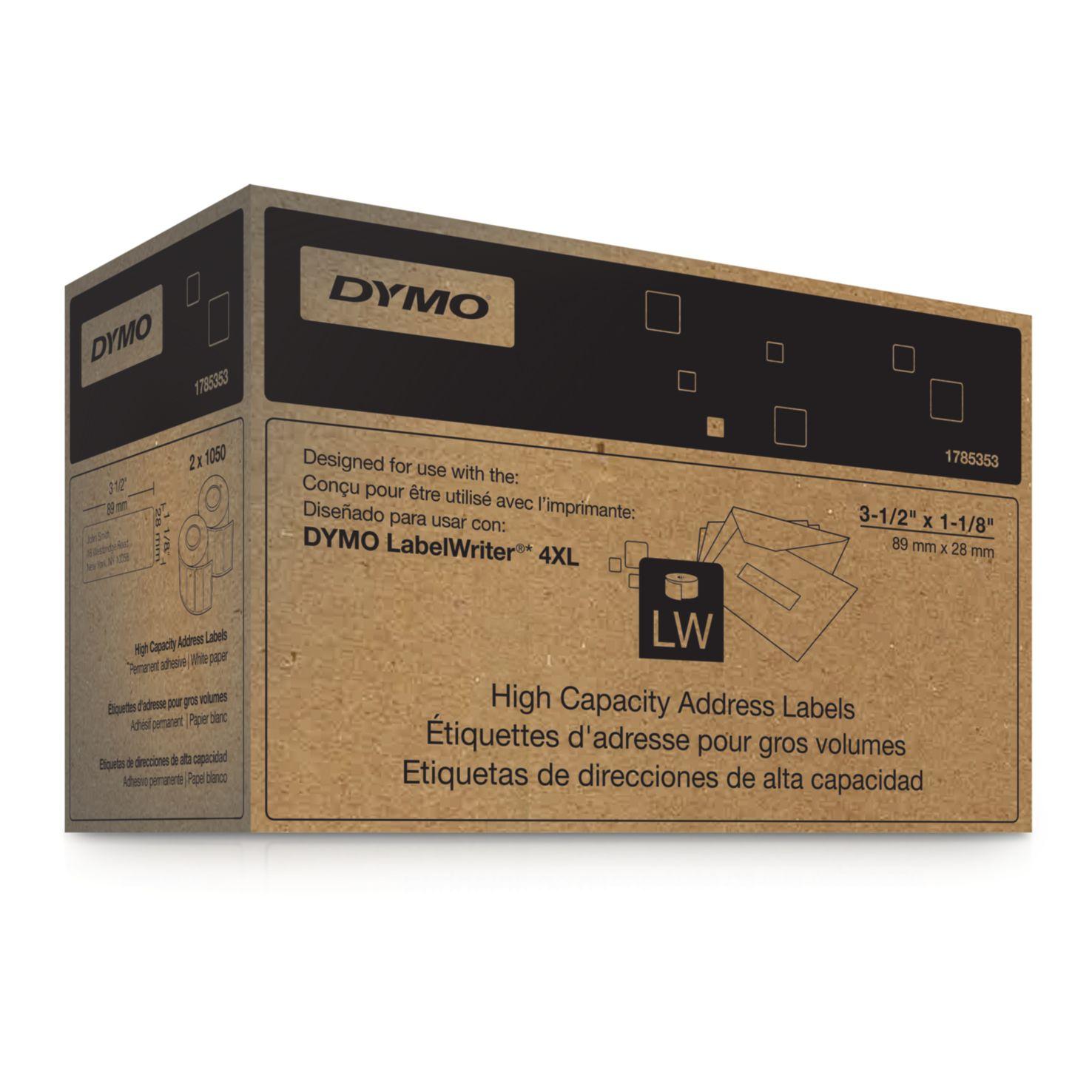 Dymo Label Writer-Adress-Etiketten 89 x 28 mm nur für LW 4XL