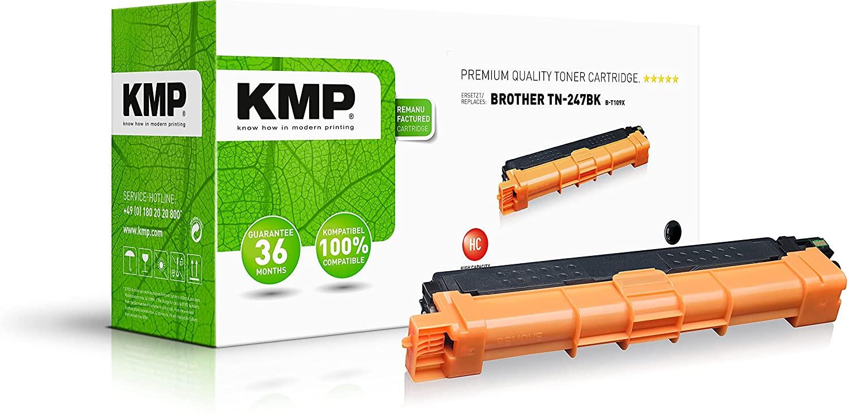 KMP Toner Kompatibel Brother TN247 Black (3000 Seiten)