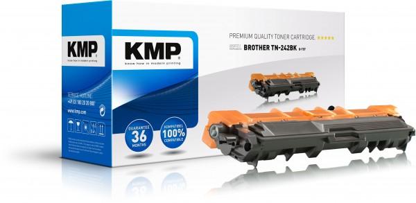 KMP Toner B-T57 kompatibel mit Brother TN-242BK DCP-9022CDWG1 etc. black