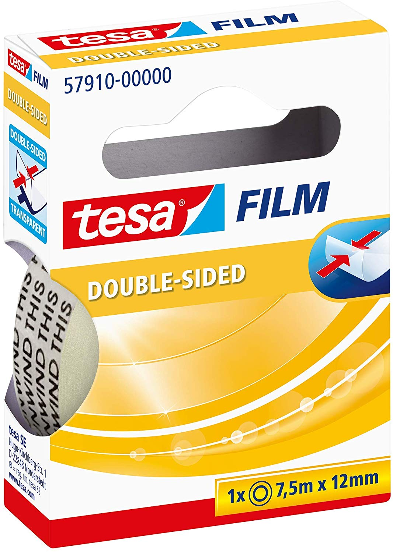 tesa® Doppelseitiges Klebeband, 1 Rolle