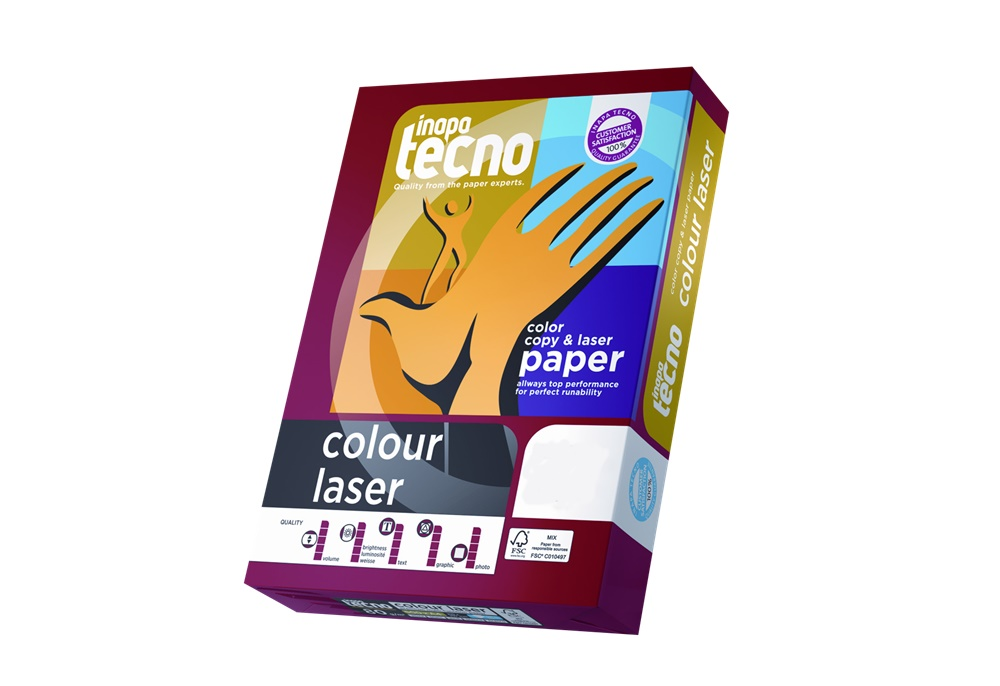 Vorschau: Inapa Tecno colour Laser 80g/m² DIN-A4 500 Blatt